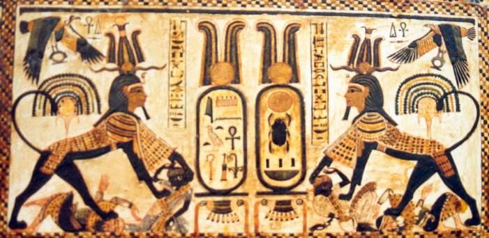 Le secret caché des pyramides d'Égypte révélé Detailcoffre2a